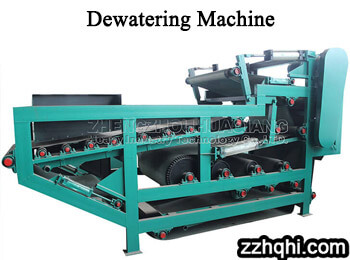 manure dewatering machine