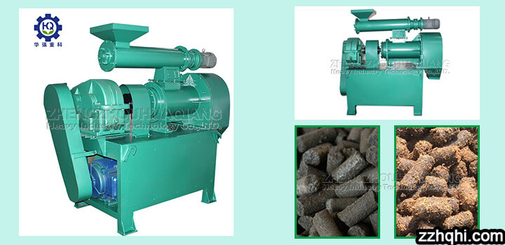 ring die granulator for organic fertilizer production